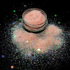 crushed opal nail glitter