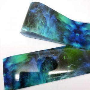 galaxy nail transfer foil