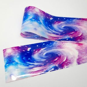 galaxy nail foil black hole