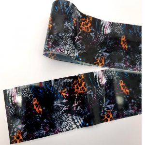 abstract design nail foil