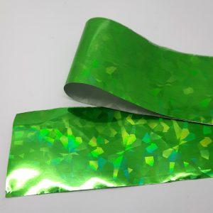 holo shards foil green
