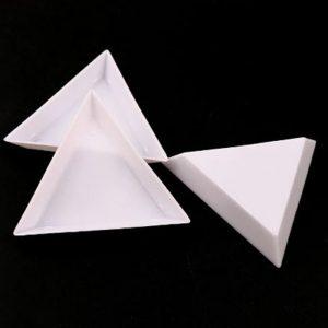 triangle gem sorting trays