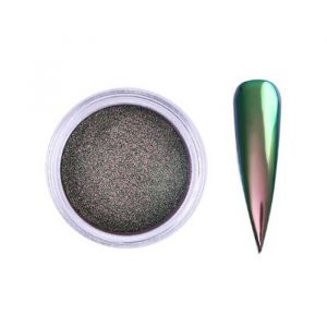 chameleon chrome nail powder