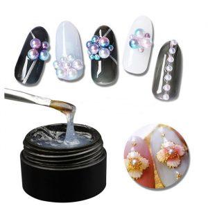 nail gem and crystal glue