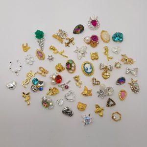 3d nail art charms