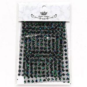 nail art glitter mesh