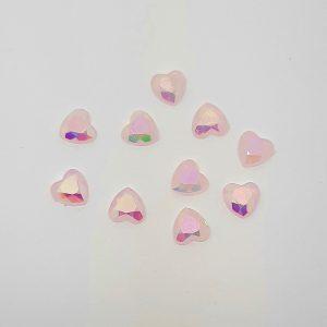 mermaid hearts pink