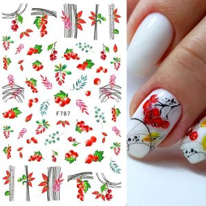 berries nail stickers